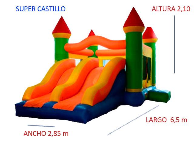 Castillo Hinchable Alquiler Super Castillo