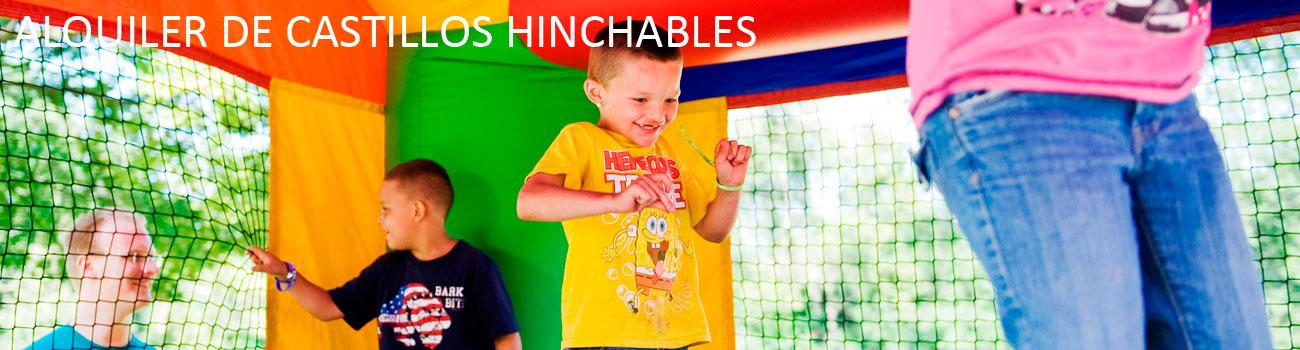 Alquiler de castillos hinchables madrid y fiestas infantiles