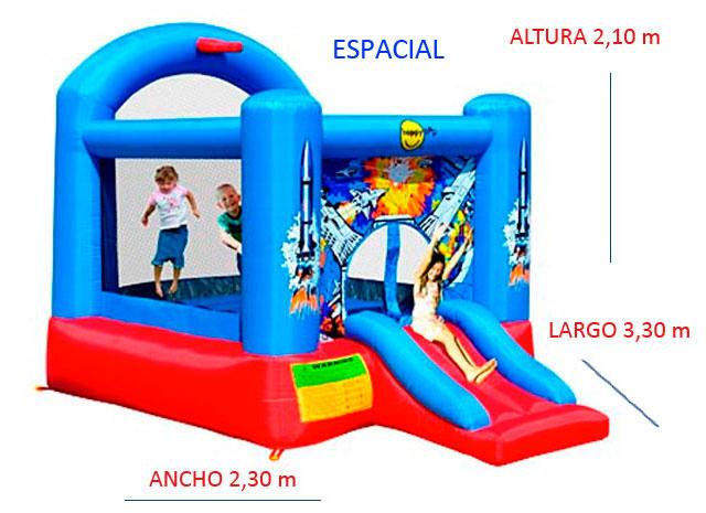 Castillo Hinchable Alquiler Espacial