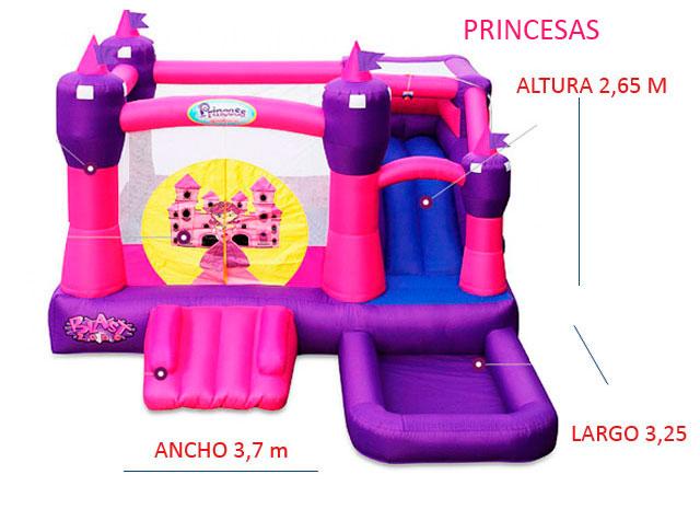 Castillo Hinchable Alquiler Princesas
