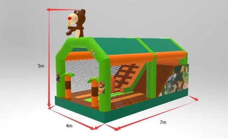 castillo hinchable alquiler jungla (2)
